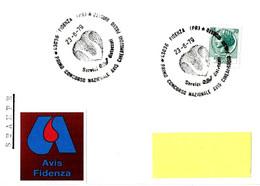 ITALIA - 1979 FIDENZA (PR) 1^ Concorso Nazionale Donatori Sangue AVIS Cineamatori Passo Ridotto - Salute