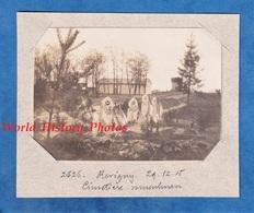 Photo Ancienne - REVIGNY Sur ORNAIN - Cimétiere Musulman Provisioire - 1915 - WW1 Poilu Argonne Meuse Tombe Soldat - Guerra, Militares