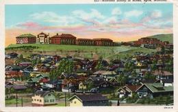 MONTANA SCHOOL OF MINES,BUTTE,MONTANA- VIAGGIATA 1957 - Butte