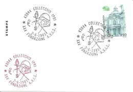 ITALIA - 1985 COLLECCHIO (PR) 25° Anniv. Fondazione Donatori Sangue AVIS - Altri