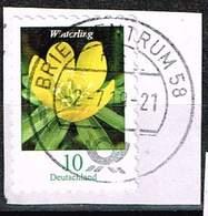 Bund 2018, Michel# 3430 O Blumen Winterling Selbstklebend, Self-adhesive - Used Stamps