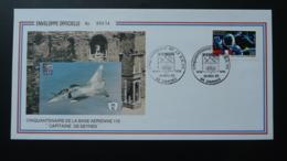 Lettre Cover Base Aérienne 115 Orange 84 Vaucluse 1989 - Avions
