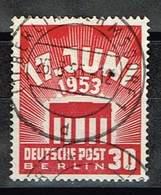 Berlin 1953, Michel# 111 O 17. Juni 1953 - [5] Berlín