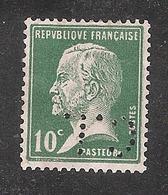 Perforé/perfin/lochung France No 170 C.L Henri Charles Lavauzelle - Perfins