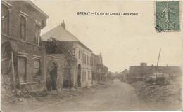 ~  JP  ~  62  ~     GRENAY  ~            Route De LENS    ~ - Francia