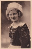 1920'S CPA FOLK DRESSED- UNE GRACIEUSE FOUSNANTAISE. COLLECTION VILLARD- BLEUP - Costumes
