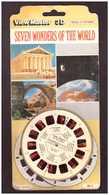 3 Diques View Master 3D. Les 7 Merveilles Du Mondes. Anciens. Naturels Et Modernes. 21 Photos. Non Ouvert. - Monuments