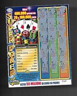 Gratta E Vinci - Super Poker - Lotto 17 - Biglietti Della Lotteria