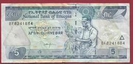 Ethiopie 5 Birr 2008 Dans L 'état  (29) - Ethiopie