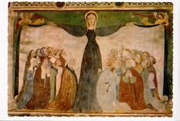 Vallee D'Aoste, Castello Di Fenis, Cappella, Affresco Madonna Della Misericordia, Unused Postcard [23293] - Italy
