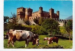 Vallee D'Aoste Pittoresque, Castello Di Fenis, Sec. XIV, Unused Postcard [23294] - Italy