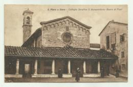 S.PIERO A SIEVE - COLLEGIO SERAFICO S.BONAVENTURA , BOSCO AI FRATI VIAGGIATA FP - Firenze (Florence)