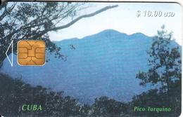 CUBA - Pico Turquino, Tirage 40000, Used - Cuba