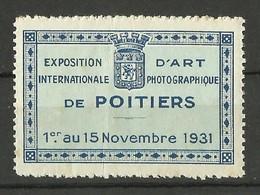 FRANCE / Vignette - Cinderella / Exposition D'art International De Photographie / POITIERS 1931 - Photographie