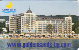 BULGARIA(chip) - Golden Sands/Admiral Hotel, Mobika Telecard 100 Units, Tirage 50000, Exp.date 06/08, Used - Bulgaria