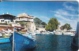 BULGARIA(chip) - Boats, Bulfon Telecard 50 Units, Chip GEM6a, Exp.date 12/09, Used - Bulgaria
