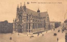BRUXELLES - Eglise Notre-Dame Du Sablon Et Rue De La Régence - Avenues, Boulevards