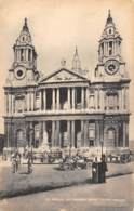 LONDON - St Paul's Cathedral - West Front - St. Paul's Cathedral