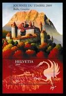 SWITZERLAND 2009 Stamp Day/Gruyères: Miniature Sheet UM/MNH - Blocs & Feuillets