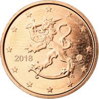 Finlande, 2 Euro Cent, 2018, SPL, Copper Plated Steel - Finland