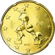 Italie, 20 Euro Cent, 2012, FDC, Laiton, KM:248 - Italy