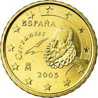 Espagne, 10 Euro Cent, 2005, FDC, Laiton, KM:1043 - Spain