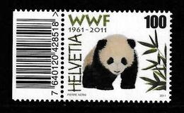 SWITZERLAND 2011 World Wide Fund For Nature (WWF): Single Stamp UM/MNH - Neufs