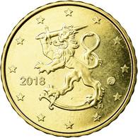Finlande, 10 Euro Cent, 2018, SPL, Laiton - Finland