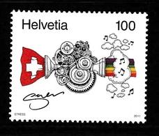 SWITZERLAND 2011 Rapper Stress: Single Stamp UM/MNH - Neufs