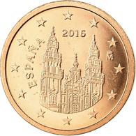Espagne, 2 Euro Cent, 2016, SPL, Copper Plated Steel - Spain