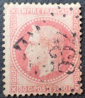 DF40266/169 - NAPOLEON III Lauré N°32 - GC 532 : BORDEAUX - 1863-1870 Napoleon III Gelauwerd