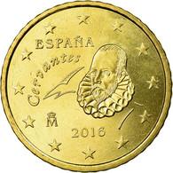 Espagne, 50 Euro Cent, 2016, SPL, Laiton - Spain