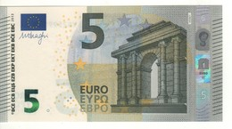 """5 EURO  """"Spain""""    DRAGHI    V 008 J1    VB2599194034     /  FDS - UNC - EURO"""