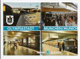 Munchen Olympiastadt - U-Bahn - Olympic Games