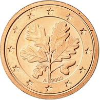 République Fédérale Allemande, Euro Cent, 2003, Proof, FDC, Copper Plated - Germany