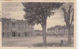 ASTI-PIAZZA 4 NOVEMBRE-CARTOLINA VIAGGIATA IL 29-12-1931 - Asti
