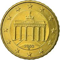 République Fédérale Allemande, 10 Euro Cent, 2003, SPL, Laiton, KM:210 - Germany