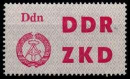 DDR DIENST LKZ Nr 3 Postfrisch X8D7952 - DDR