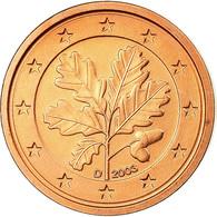 République Fédérale Allemande, Euro Cent, 2003, FDC, Copper Plated Steel - Germany