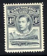 Basutoland 1938 KGV1 4d Grey MM SG 23 ( H1476 ) - 1933-1964 Crown Colony