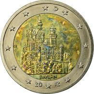 République Fédérale Allemande, 2 Euro, BAYERN, 2012, TB+, Bi-Metallic, KM:305 - Germany