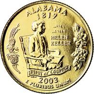 Monnaie, États-Unis, Alabama, Quarter, 2009, U.S. Mint, Denver, Golden, SUP+ - Federal Issues