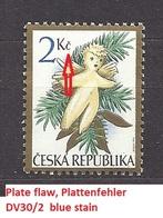 Czech Republic 1994 MNH ** Mi 59 Sc 2935 Christmas. Weihnachten. Tschechische Republik. Plate Flaw, Plattenfehler. - Czech Republic