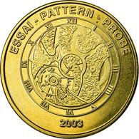 Suisse, Fantasy Euro Patterns, 50 Euro Cent, 2003, SUP, Laiton - EURO