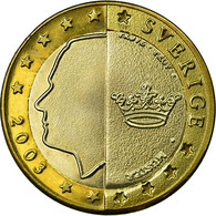 Suède, Fantasy Euro Patterns, Euro, 2003, SUP, Bi-Metallic, KM:Pn7 - EURO