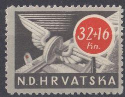 CROAZIA - 1944 - Yvert 118 Nuovo MH. - Croazia