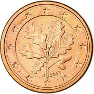 République Fédérale Allemande, Euro Cent, 2002, TTB, Copper Plated Steel - Germany