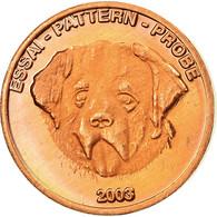 Suisse, Fantasy Euro Patterns, Euro Cent, 2003, SUP, Laiton - EURO