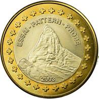 Suisse, Fantasy Euro Patterns, Europ, 2003, SUP, Bi-Metallic, KM:Pn8 - EURO