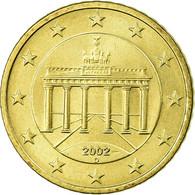 République Fédérale Allemande, 50 Euro Cent, 2002, TTB, Laiton, KM:212 - Germany